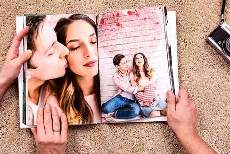 Colorland - Landscape or portrait 160 page personalised A4 photobook - Save 78%