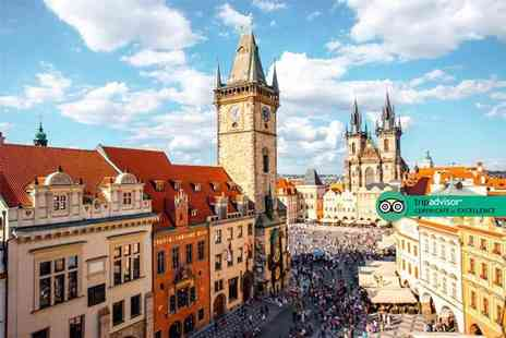 Bargain Late Holidays - Four Star Escape with a two, three or four nights getaway to Prague Now with the ability to choose your flight - Save 0%