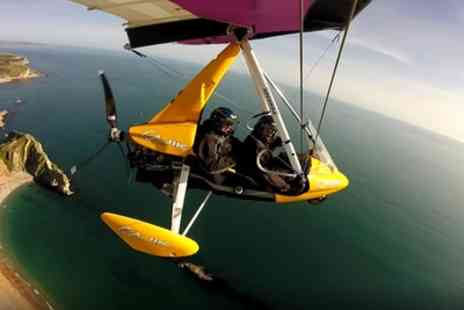 Learn to Fly - 60 Minute Microlight Flying Experience - Save 53%