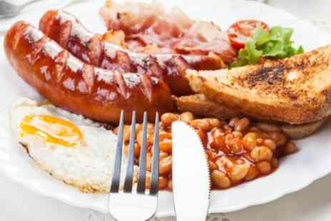 Terminal 6 Lounge - Full English Breakfast for Two or Four - Save 0%
