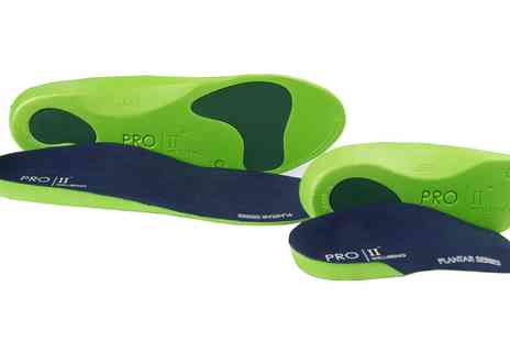 Groupon Goods Global GmbH - One or Two Pairs of Slim Fit 3 and 4 or Full Orthotic Insoles - Save 0%