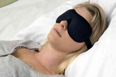 Groupon Goods Global GmbH - One, Two or Three Padded Sleeping Eye Masks - Save 0%