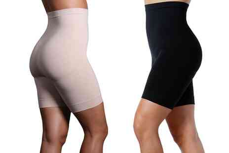 Groupon Goods Global GmbH - Womens High Waist Body Contouring Underwear - Save 0%