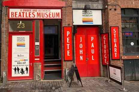 Brilliant Liverpool Tours - Beatles themed guided walk Mathew Street to Waterfront and John and Yoko exhibition - Save 0%