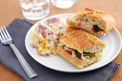 Coffee House - Panini or Ciabatta with Hot or Cold Drink for Up to Four - Save 31%