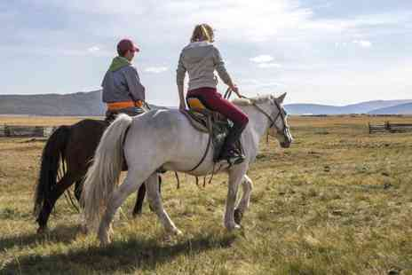Grange Trekking - Two hour pony riding lesson and trek for one person - Save 64%