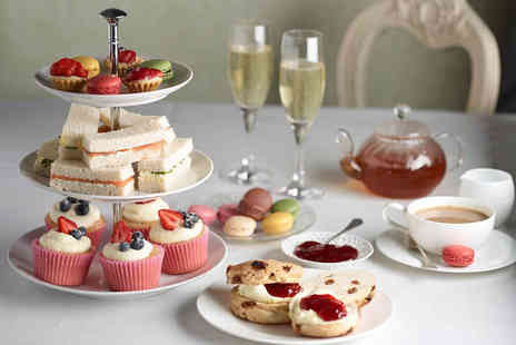 Number 10 Hotel - Afternoon tea for two with a glass of bubbly each - Save 53%