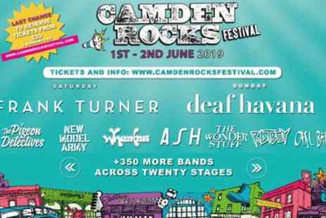 Camden Rocks Festival - One day or weekend ticket from 1st To 2nd June - Save 12%
