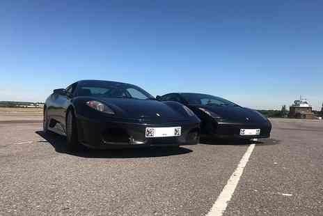 Supercar Test Drives - Three lap Ferrari or Lamborghini driving experience on a weekday - Save 77%