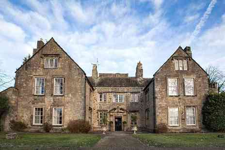 The Manor House Hotel - Overnight stay for two people with glass of Prosecco, leisure access, breakfast, early check in and late check out - Save 52%