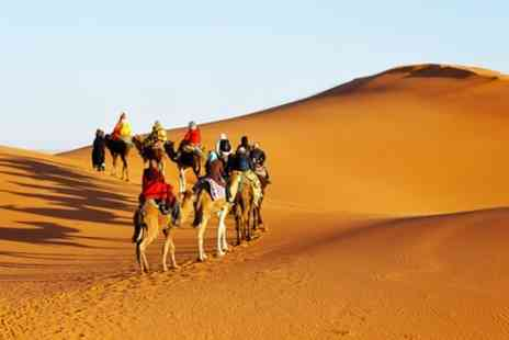 Crystal Travel - Four Star 2 To 5 Nights Stay at Diwane Hotel and Spa with Breakfast, Flights and Option for Camel Tour - Save 0%