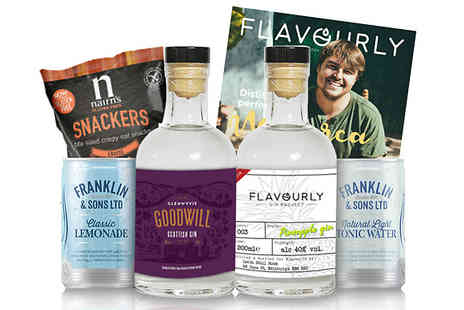 Flavourly - Six Piece Artisan Gin Hamper - Save 65%