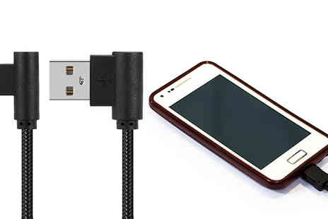 Impress Gadgets - Ultra Fast Charging Cables For Android or Apple Choose Between Two Pack - Save 75%