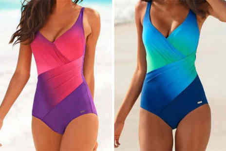 Blu Fish - Two tone swimsuit choose from two colours - Save 70%