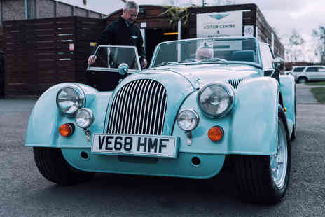 Factory Tour - Half Day Classic Morgan Driving Experience - Save 57%