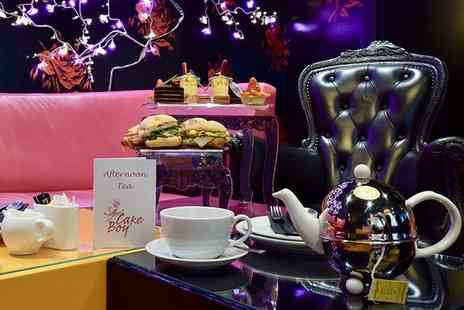 Cake Boy - Afternoon tea for two people - Save 64%