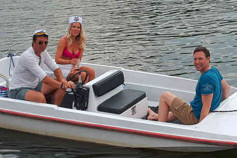 Riverscapes - Half day self drive boat hire for two - Save 61%