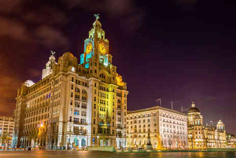 Days Inn Liverpool - Overnight stay for two people in a King Room with breakfast, pizza to share, alcoholic or soft drink each and late check out - Save 53%