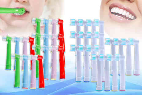 Wow What Who - Pack of OralB toothbrush heads - Save 60%