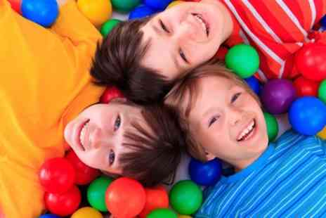 Funky Monkeys - Three Soft Play Area Passes for up to Four Children - Save 65%
