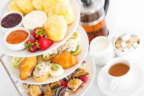 Brook Hall Hotel - Traditional or Sparkling Afternoon Tea for Two - Save 37%