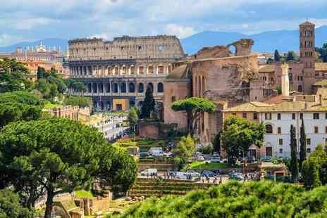 Crystal Travel - Two nights Rome getaway with return flights - Save 71%