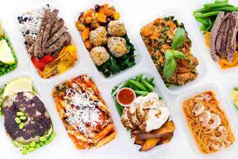 Nutribox Meals - Five day diet plan with two pre prepared meals a day get nutritious and delicious meals delivered to your door - Save 39%