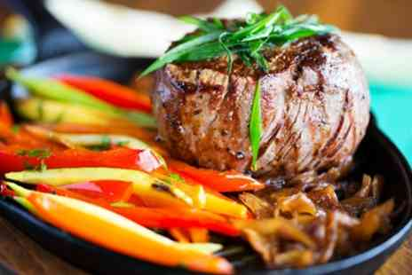 Pane E Vino - Steak Meal with Sides and a Glass of Wine or a Beer for Two or Four - Save 52%