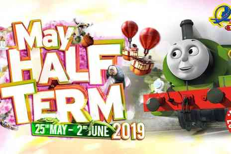 Holiday Extras - Drayton Manor Theme Park, home of Thomas Land with Overnight Hotel Family Stay An Unmissable Family Adventure - Save 26%