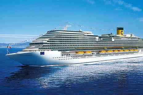 Cruise Nation - Nine nights summer Med cruise with Genoa stay - Save 0%