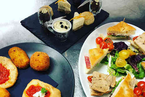 Dimora - Italian afternoon tea for two people with a glass of Prosecco each - Save 50%
