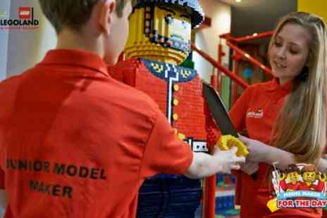 LEGOLAND Windsor Resort - LEGOLAND Model Maker for the Day VIP Experience - Save 24%