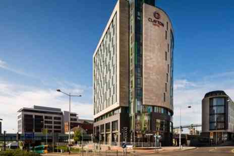 Clayton Hotel - Standard Room for 2 with Breakfast, Late Check Out, Prosecco and Option for Dinner - Save 38%