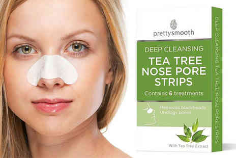 Avant Garde - Six pack of Pretty Smooth nose cleaning strips - Save 85%
