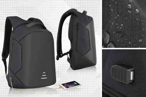 Avant Garde - Anti theft backpack Choose from four colours - Save 40%