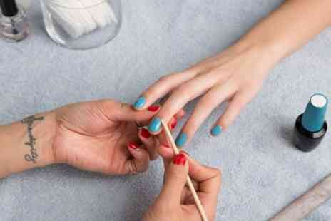 Shooq Beauty - Shellac Polish on Hands or Feet or Both - Save 40%
