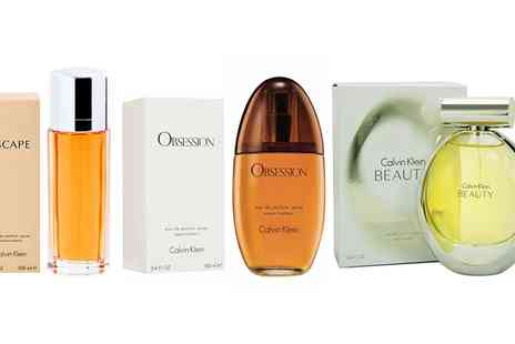 Groupon Goods Global GmbH - Range of Calvin Klein Fragrances for Men and Women - Save 0%