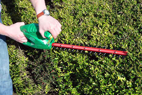 Groundlevel - 450W Electric Hedge Trimmer - Save 57%