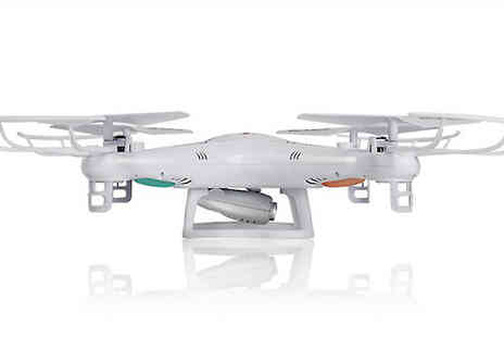 Fantasy Supply - 2.4G Rc Drone With Optional Camera And Live Camera Feed - Save 83%