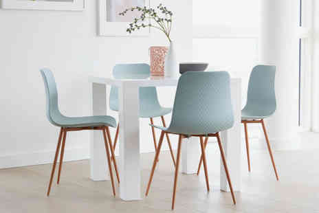 Out and Out Original - Talisa dining set choose a table in one of two sizes with either four or six seats - Save 0%