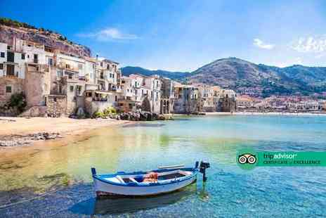 Via Holiday - Four Star Two nights Cefalu, Sicily beach break with return flights - Save 33%