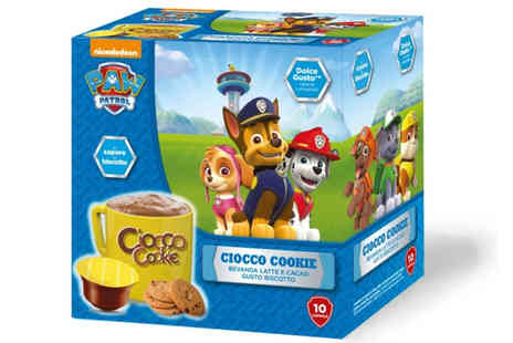 GO ITALIAN COFFEE - 30 Paw Patrol cocoa Dolce Gusto compatible pods or 60 Pods - Save 22%