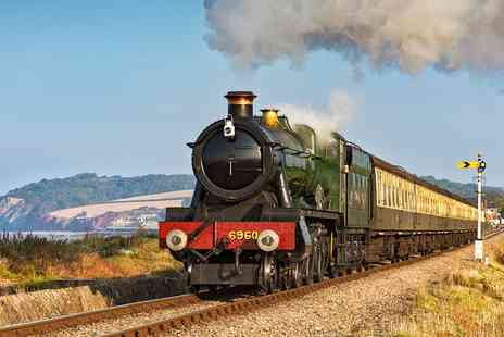 West Somerset Railway - Adult rover ticket for Two - Save 28%