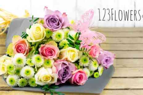 123 Flowers - 50% Off Fresh Flowers Delivery - Save 0%