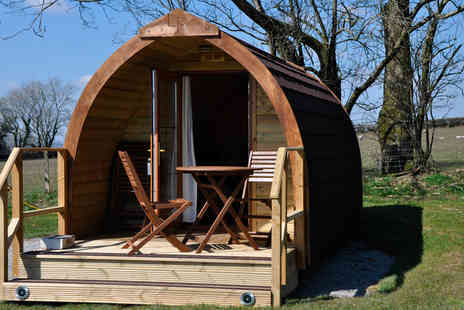 Virgin Experience Days - One Night Super Glamping Pod Break in Devon - Save 34%