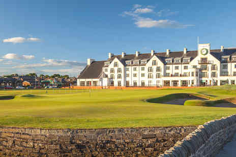 Virgin Experience Days - Ultimate Golfing Experience at Carnoustie Open Championship Course with 18 Holes, Dinner and Overnight Stay with Special Guest Stuart Pearce - Save 0%