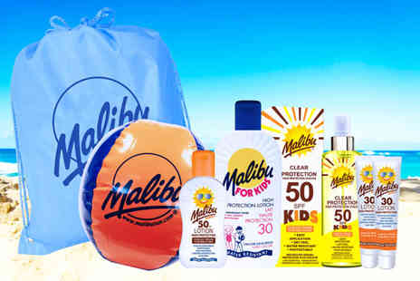 Malibu Health Products - Malibu sun kids protection collection - Save 0%