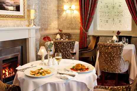 The George Hotel - Award winning Three course dinner for 2 - Save 43%