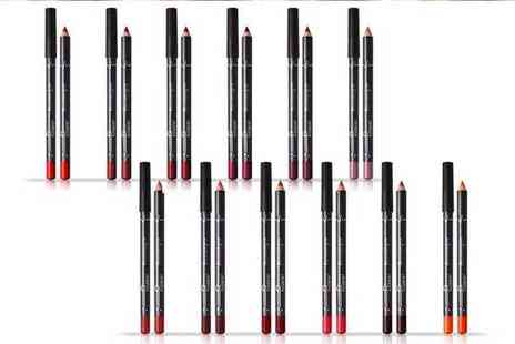 Avant Garde - 12 piece matte lip pencil set - Save 77%