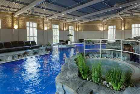 Slaley Hall - Luxury spa day with a choice of three 25 minute treatments or one 85 minute treatment and a three course lunch for one person - Save 55%